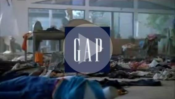 Gap: Pardon Our Dust