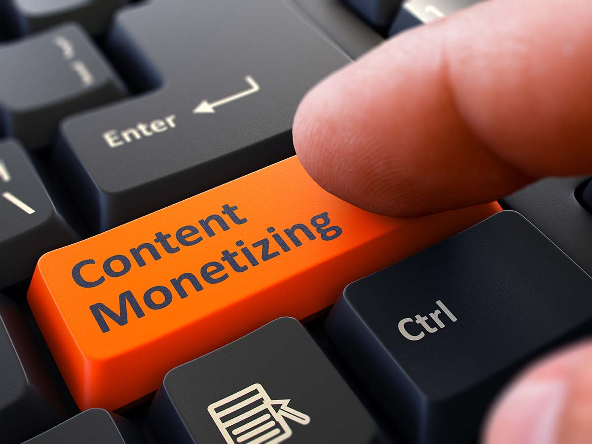 Content Monetizing Conent Creation Monetizing