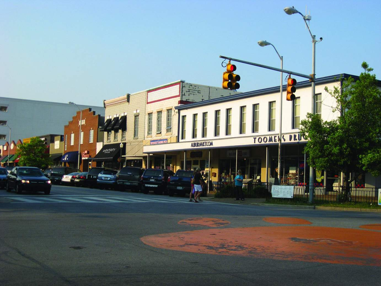 Community involvement: A member of the Auburn Chamber of Commerce