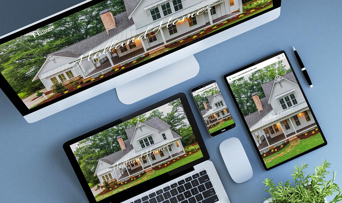 Holland Homes Website