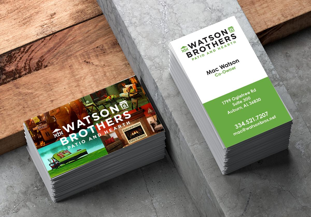 Watson Brothers  Business Cards